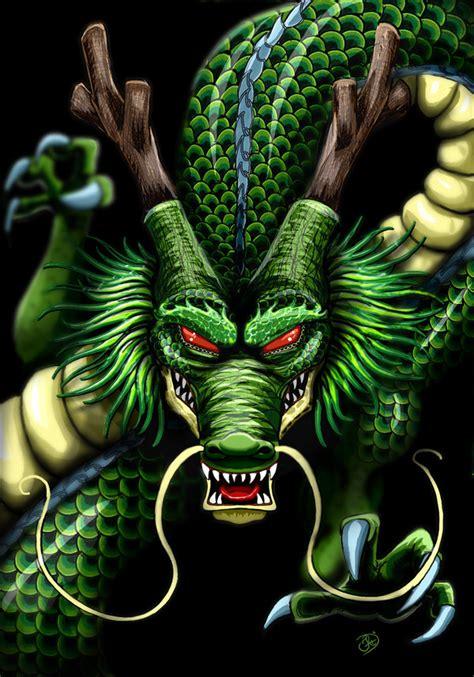 shenron dragon god dragon ball dreaming dragon deviantart