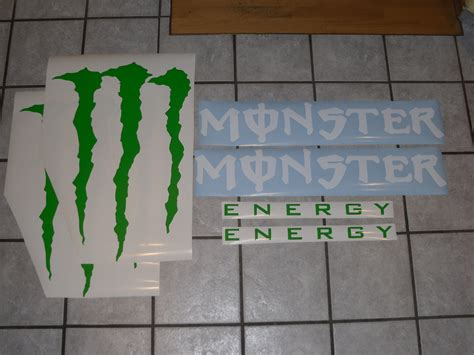 Monster Energy Aufkleber Deutschland by Monster Energy Aufkleber Riesengro 223 Biete