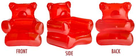 candy couch gummy bear inflatable chair craziest gadgets