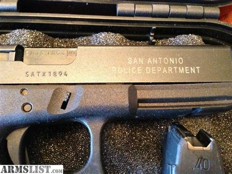 Sapd Number Search Armslist For Sale Glock 22 San Antonio Pd Trade In 40