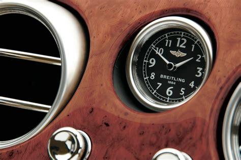 breitling  blog  bentley continental gt speed   breitling clock