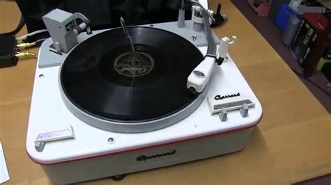 Garrard Type A Turntable garrard type a record player fully restored