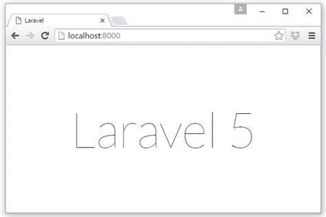 laravel w server tutorial laravel 5 4 tutorial part 1 installation w3programmers