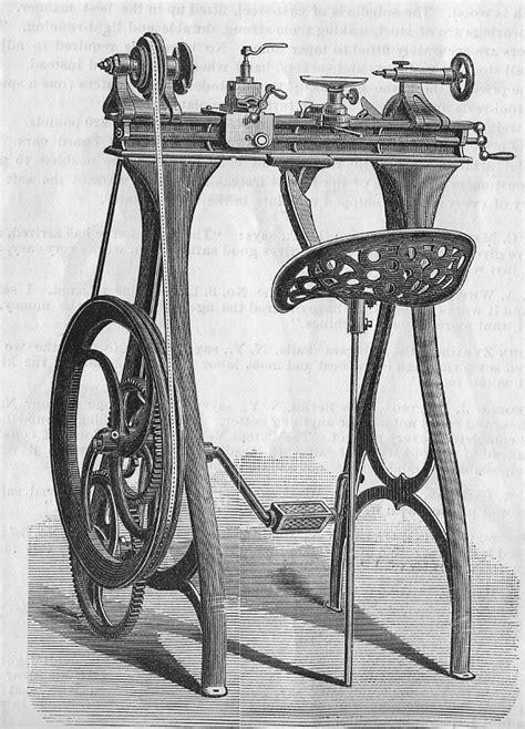 Lathe - #4 Wood/Metal - Foot Powered Machinery
