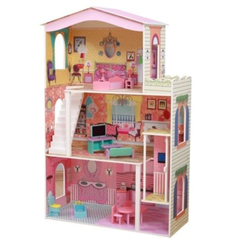 barbie doll house on sale delicate three floors barbie dollhouse with 17sets mini furnitures inside best sale