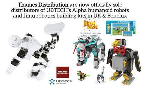the ubtech jimu robots builderã s guide how to create and make them come to books thames distribution thamesdisti