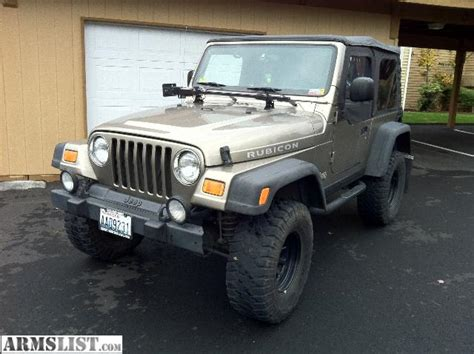 2003 Jeep Wrangler For Sale Armslist For Sale 2003 Jeep Wrangler Rubicon
