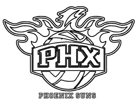 coloring pages nba team logos nba team coloring pages download and print for free