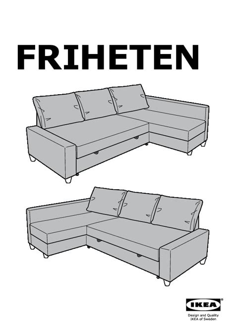 Friheten Corner Sofa Bed Ikea United States Ikeapedia Ikea Sofa Bed Manual