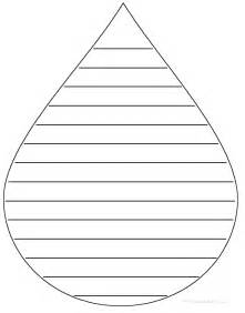 raindrop template with lines template of raindrop with lines clipart best cliparts co