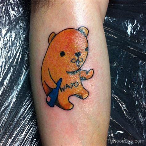 tattoo bear cartoon bear tattoos tattoo designs tattoo pictures page 3