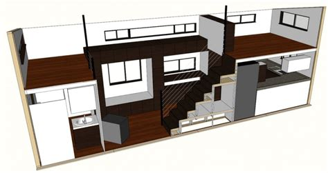 no loft tiny houses floor plans studio design