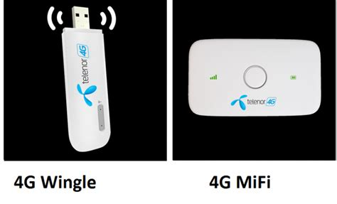 Modem 4g Wingle telenor 3g 4g device packages wingles dongles and mifi