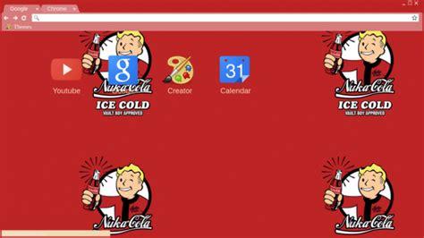 theme google chrome fallout fallout coke a cola chrome theme themebeta