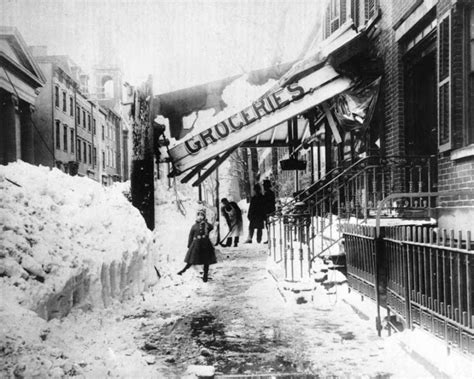 the biggest blizzard incredible pictures of the great blizzard of 1888 how one