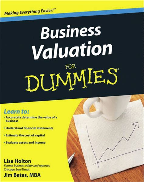 Complete Mba For Dummies Pdf by Business Valuation For Dummies Avaxhome
