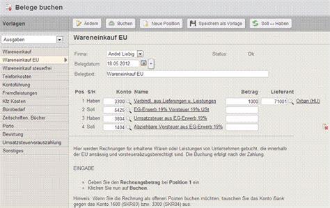 Muster Rechnung Innergemeinschaftlicher Erwerb Buchen Verbindlichkeiten Gegen 252 Ber Lieferanten Im 252 Brigen Gemeinschaftsgebiet