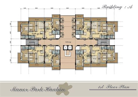 Apartment Blueprints by Apartment Building Floor Plans Mapo House And Cafeteria