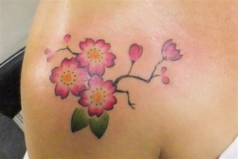 cherry blossom tattoo small 24 gorgeous cherry blossom tattoos pretty designs