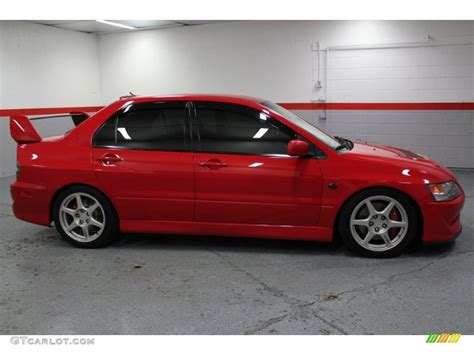 mitsubishi evo 8 red rally red 2003 mitsubishi lancer evolution viii exterior