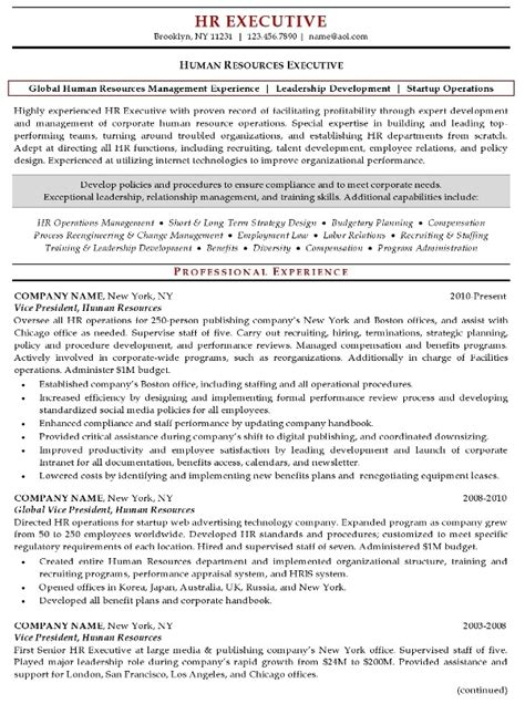 executive resume format 2017 human resource resume ingyenoltoztetosjatekok