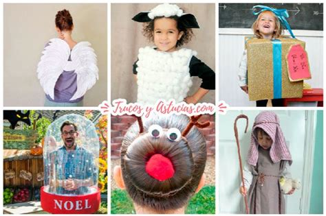 disfraces caseros con moldes o explicaciones disfraces los disfraces caseros para navidad m 225 s originales trucos
