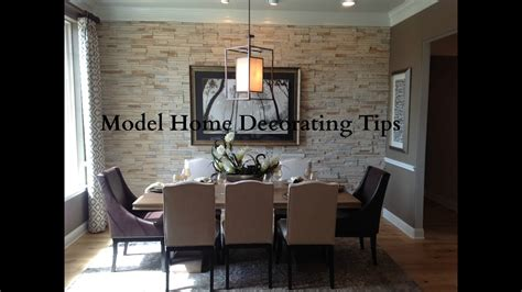 model home decor model home decorating tips