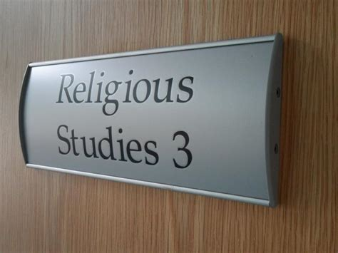 Door Signs by Denstone College Signage Study Signs Now