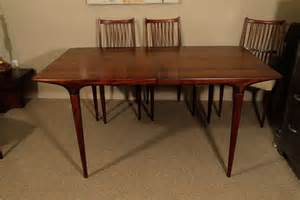 Modern Dining Table And 6 Chairs Mid Century Modern Dining Table And Six Chairs At