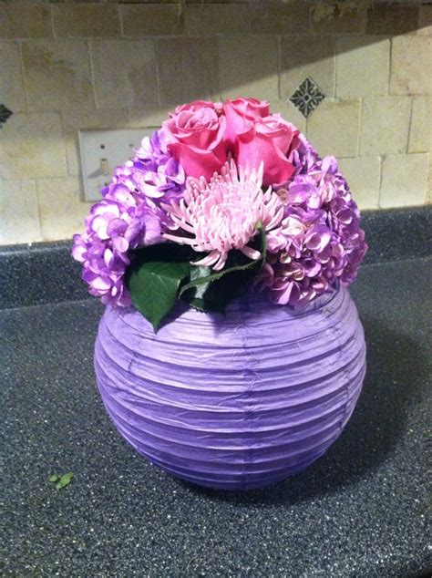 How To Make Flower Paper Lanterns - paper lantern with flowers lms wedding