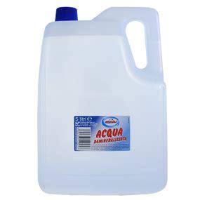 acqua distillata uso alimentare tanica di acqua demineralizzata distillata da 5 litri