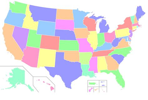 Us State Map Template Www Proteckmachinery Com 50 States Powerpoint Template