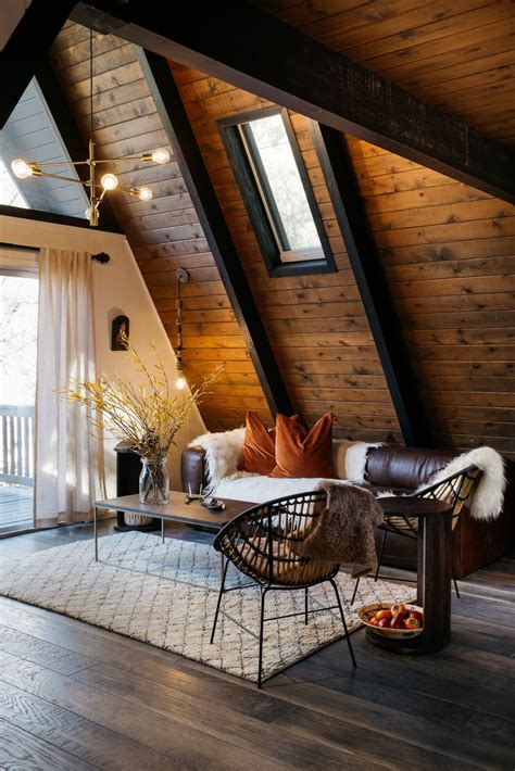 home warehouse design center big bear photo 5 of 13 in a 1970s a frame cabin in big bear is