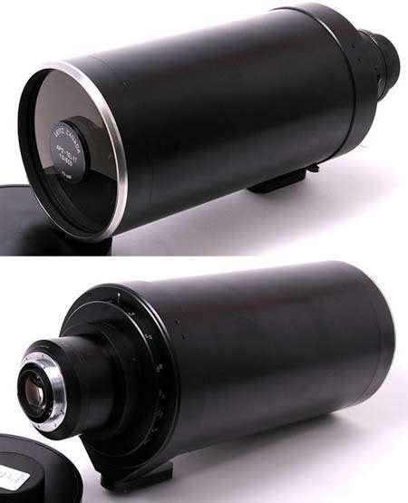 Mengapa Kamera Leica Mahal lensa leica 600mm f5 prototipe lensa langka 230 ribu dollar