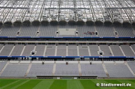 allianz arena innen fotos allianz arena fc bayern m 252 nchen stadionwelt