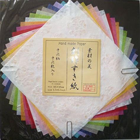 Japanese Handmade Paper - japanese handmade paper decorative craft rainbow colors
