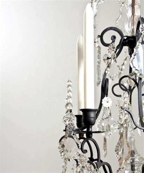 black candle chandelier black candle chandelier fineantiquechandeliers