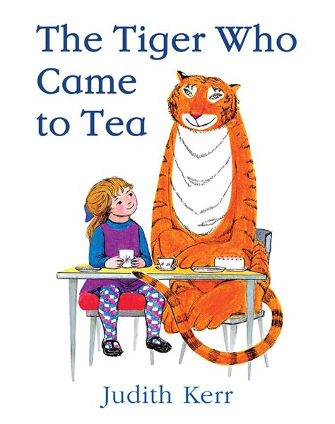free coloring pages of tiger who came for tea