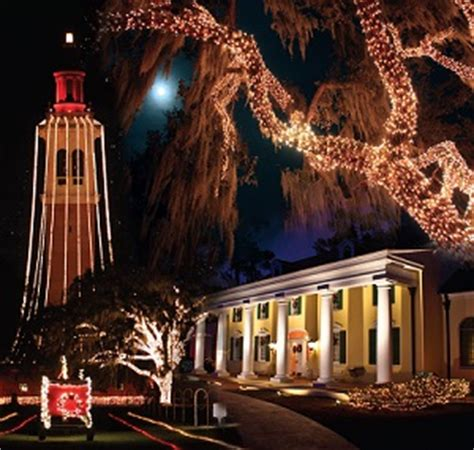 festival of lights at stephen foster folk culture center