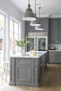 White And Grey Kitchen Cabinets decorating with white grey cabinets the fog and grey