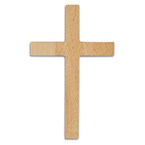 Glatt Lackieren Holz wandkreuz holzkreuz buche natur glatt lackiert gerader