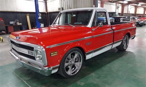 cool for sale cool wheels 1970 chevrolet c 10 cst pickup custom for sale