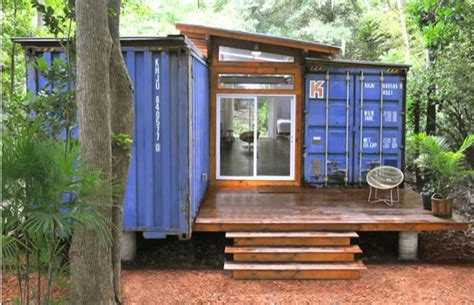 tiny container homes two shipping containers turned into a small house
