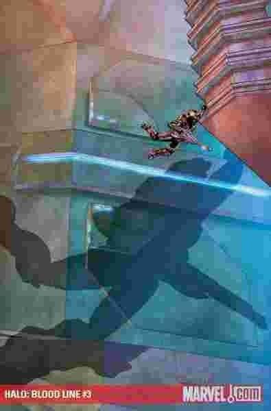 Halo Tp Blood Line Marvel Comics halo blood line 3 marvel comics x box based
