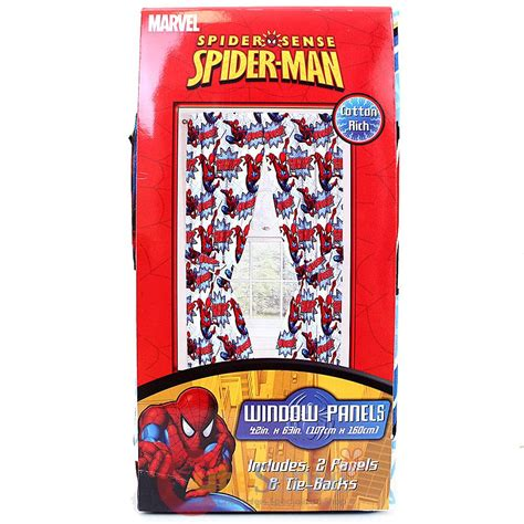 spiderman tab top curtains spider sense spiderman drapes window panels curtains with