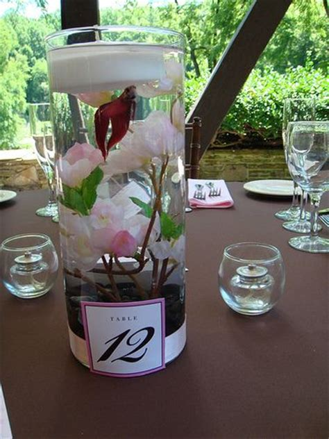 17 best ideas about fish wedding centerpieces on