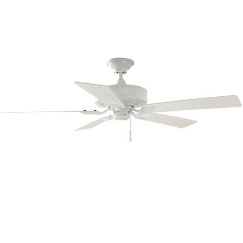island style ceiling fans hton bay barrow island 52 in indoor outdoor white