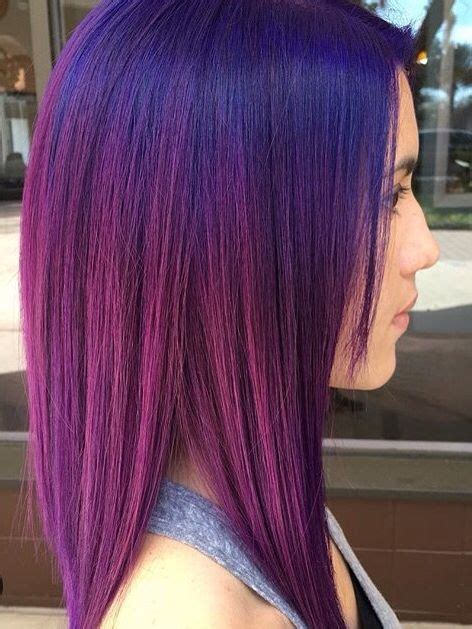 splat crimson obsession streaks purple to pink ombr 233 hair color pinterest hair