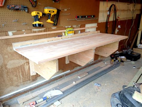 how to up your bench building a folding shop workbench make