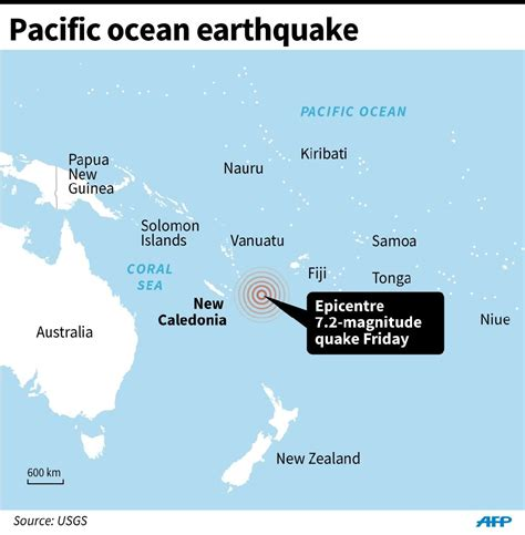 earthquake new caledonia 7 2 magnitude quake hits off new caledonia no tsunami threat